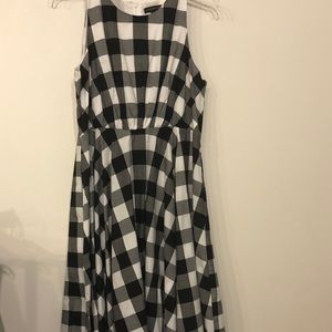 Lane Bryant Dresses - Lane Bryant size 16 Black & White Dress